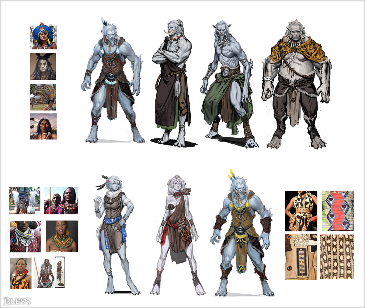 Character Design Course Free : The npcs of bless online pinterest