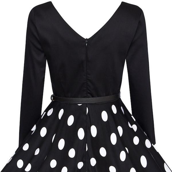 Classy Audrey Hepburn 1950s Vintage Rockabilly Swing Dress | Audrey ...