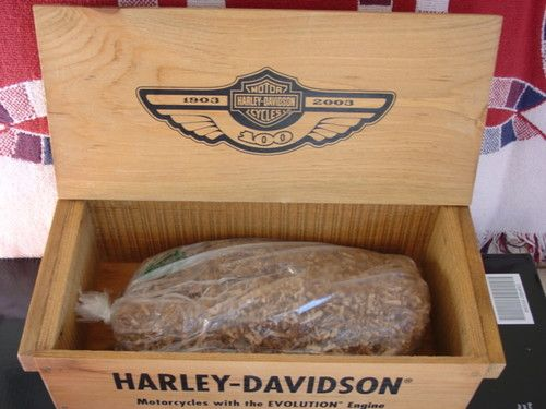 wooden harley box