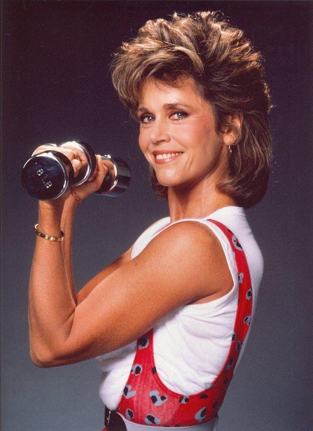 How To Dress Like A 1980s Aerobics Junkie 1980s Aerobics Jane Fonda Jane Fonda Workout