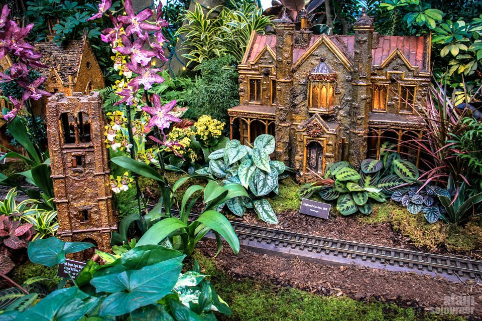 Train Show at New York Botanical Garden 2015. | New York Botanical ...