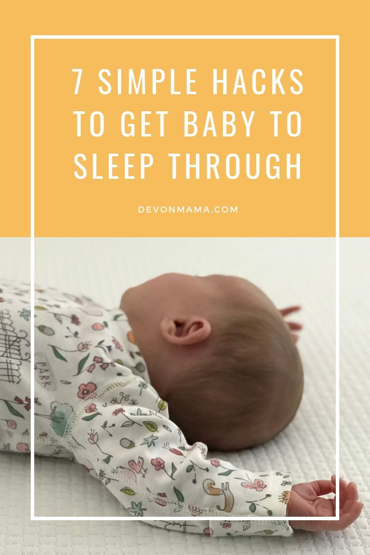 Seven Ways To Help Your Baby Sleep At Night   Baby ...