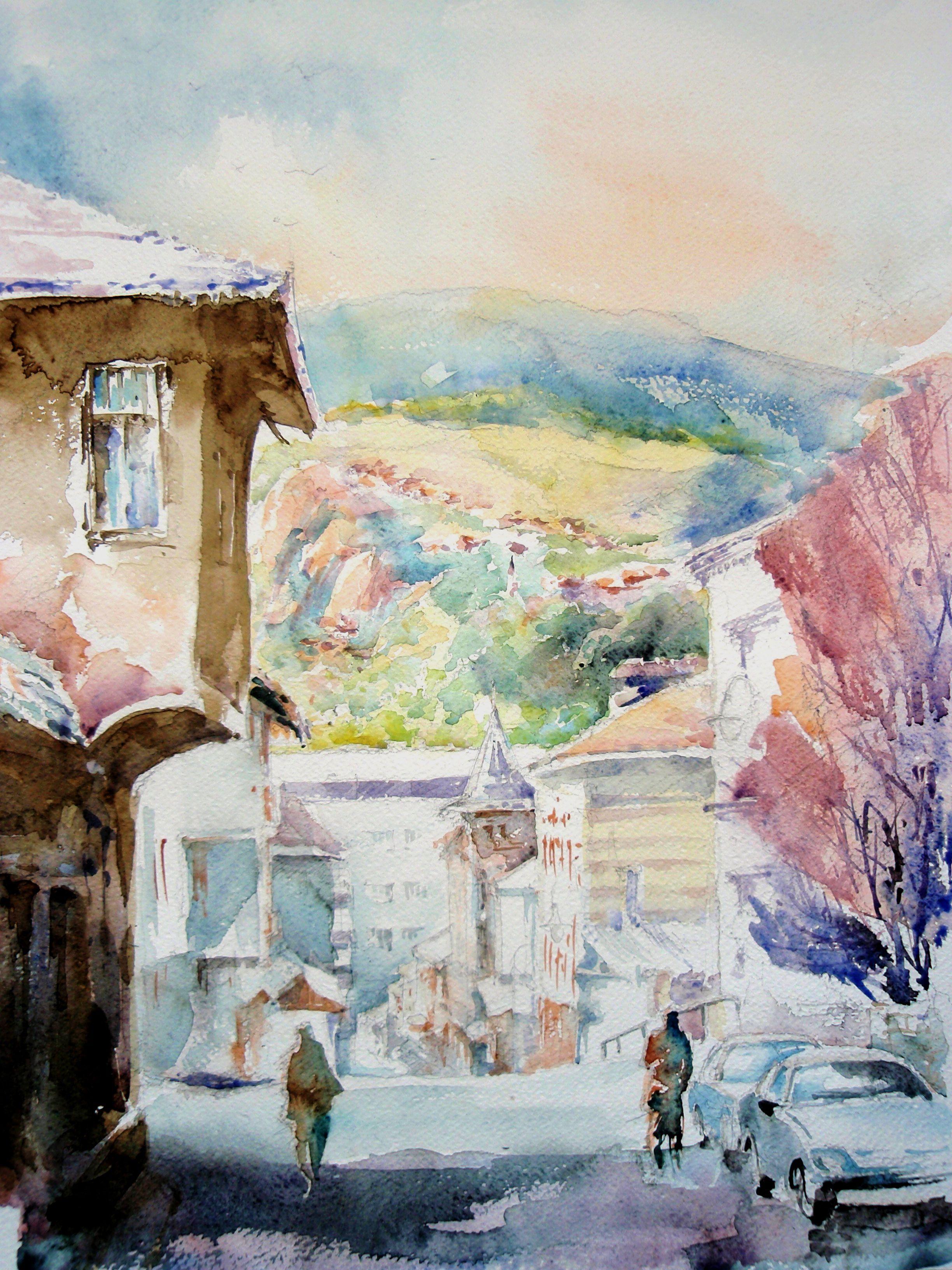 Color art fojnica - Sarajevo Bosnia Herzegovina Old Town Logavina