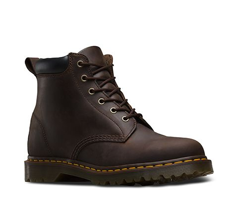 DR MARTENS 939 GREASY LEATHER BOOTS