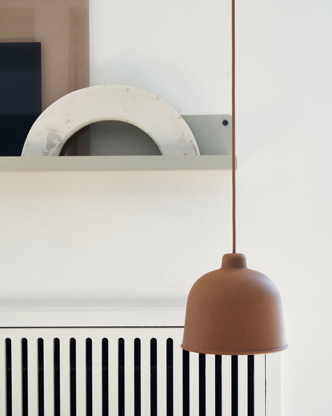 Muuto On Instagram A Simple Lamp For Any Space The Grain Pendant Lamp Is Made In A Bamboo Fiber For A Tactile Touch And Textured Simple Lamp Home Decor Lamp