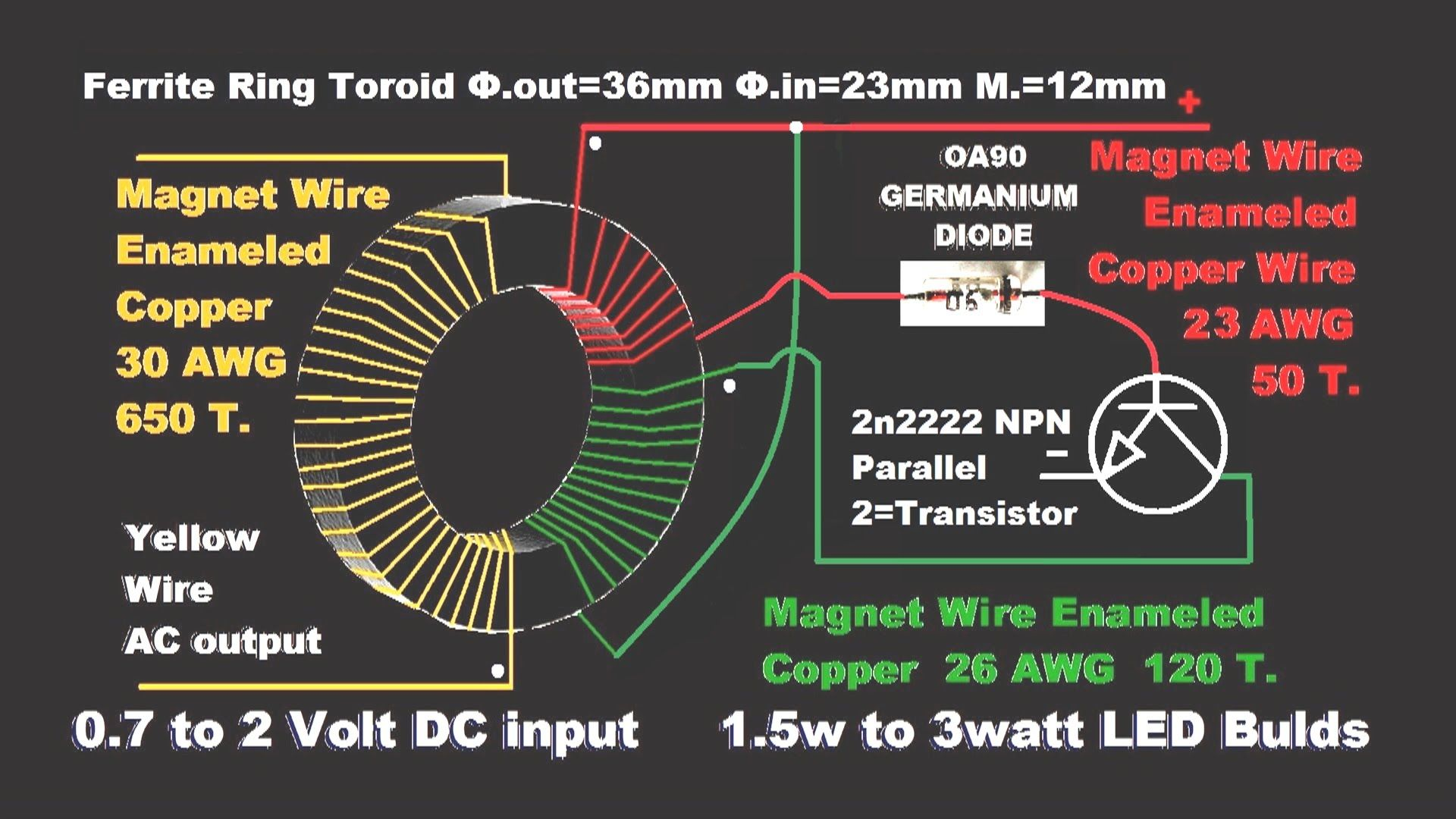 Make Emergency Light Diy Circuit Youtube Sistemas Electronicos Diagram
