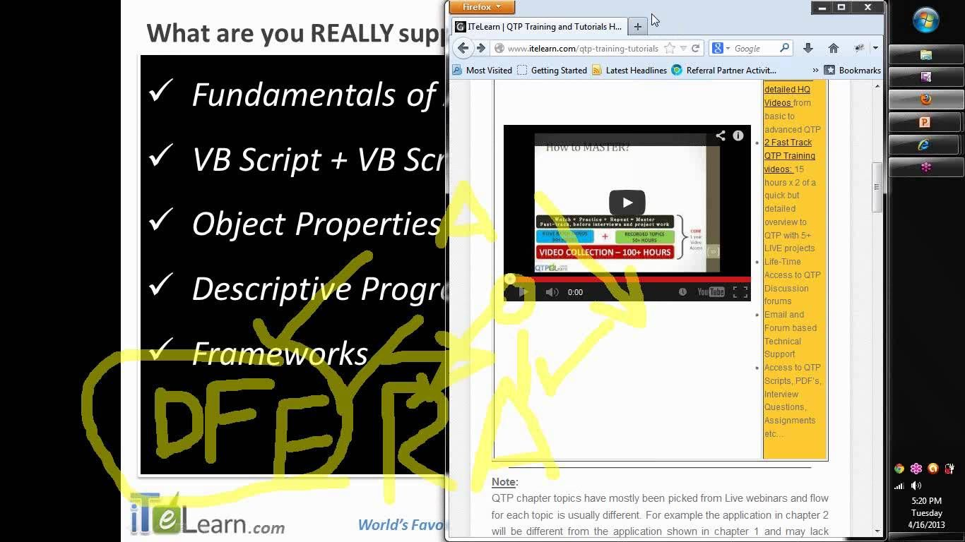 How to master qtp hp qtp software test automation for qtp jobs hp how to master qtp hp qtp software test automation for qtp jobs hp qtp certification baditri Gallery