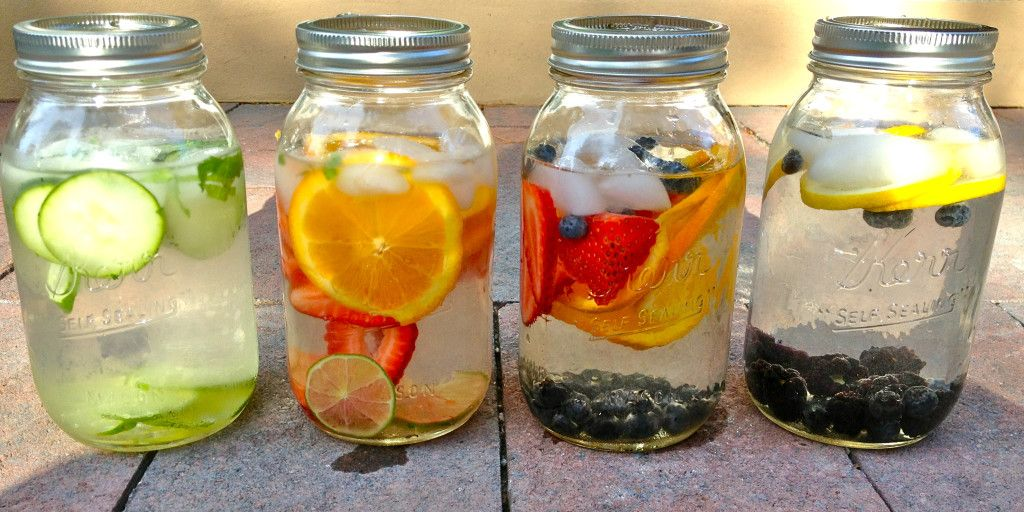 Make Your Own Fruit Infused Water