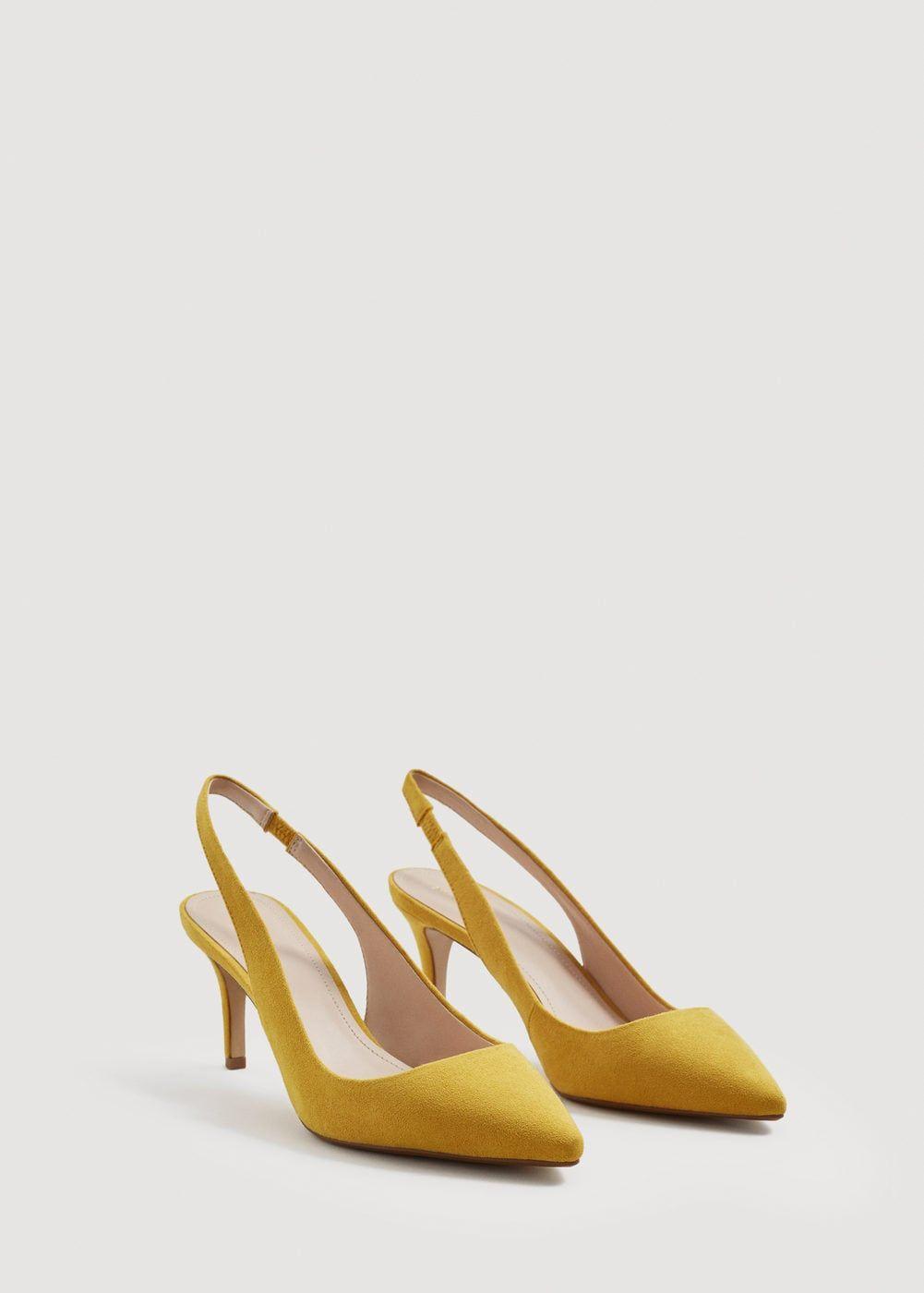 Chaussures à talons avec bride arrière - Femme   mode printemps été ... 7c0b7c323784