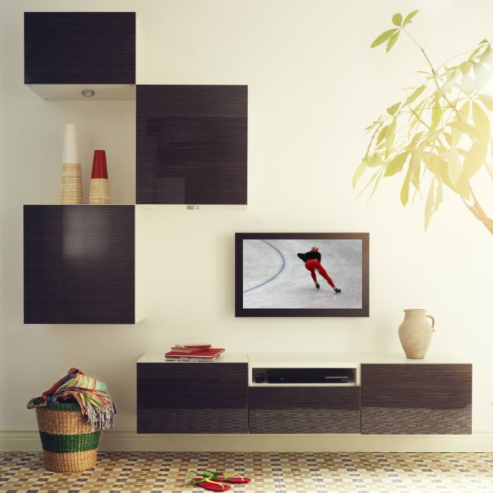 Create a custom IKEA TV media unit that fits perfectly with your ...