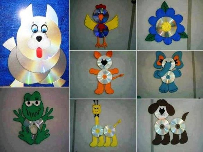 Charming Cd Craft Ideas For Kids Part - 7: Recycled CD Projects For Kids
