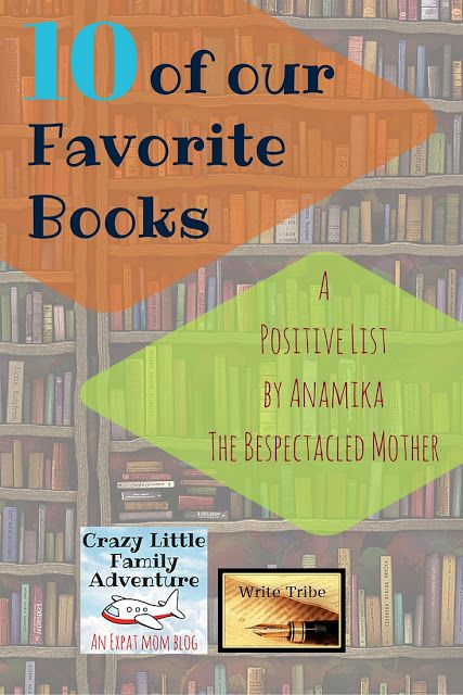 10 of our favorite books. A Positive List by Anamika Agnihotri