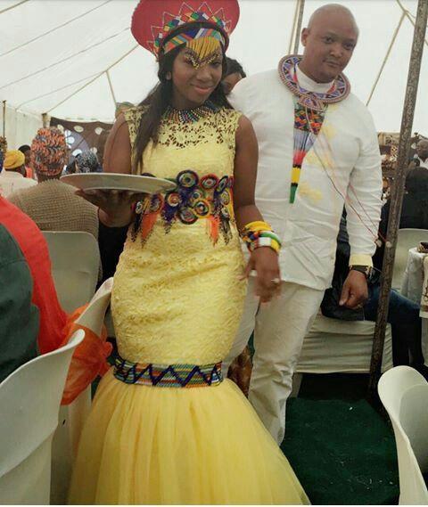 Pedi culture wedding dresses