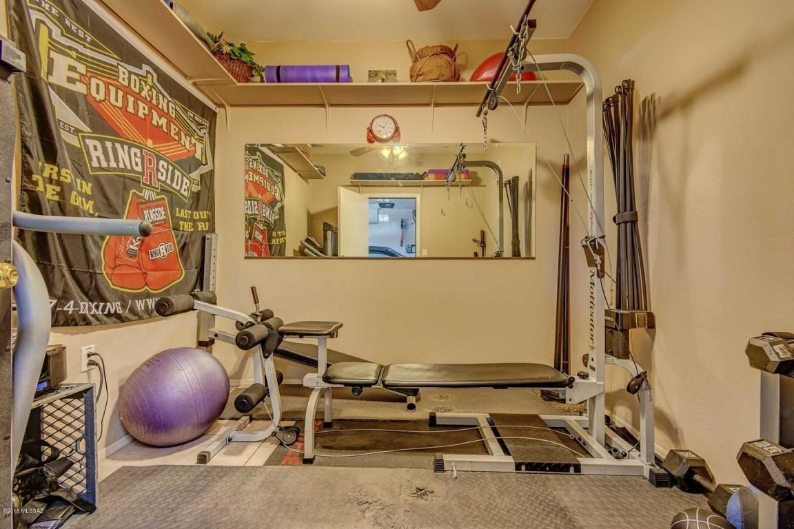 Third Stall In Garage Conversion What Do You Need Workout Room
