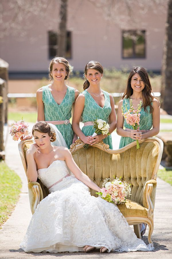0e0b8777c Shop Steal This Pink And Mint Bridesmaid Look