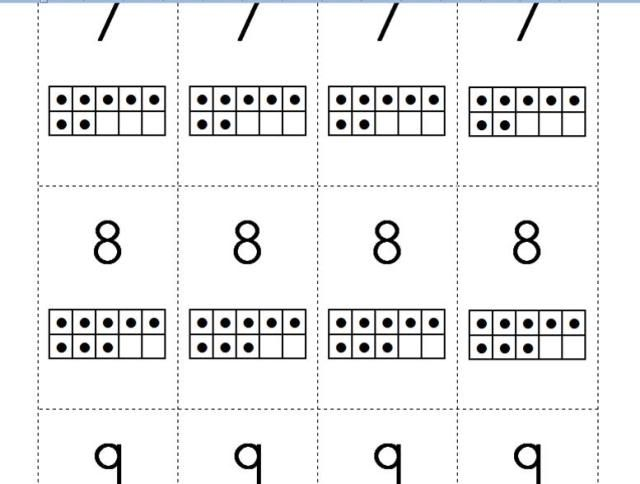 Ten Frame number cards | classroom ideas | Pinterest | Maths, Game ...