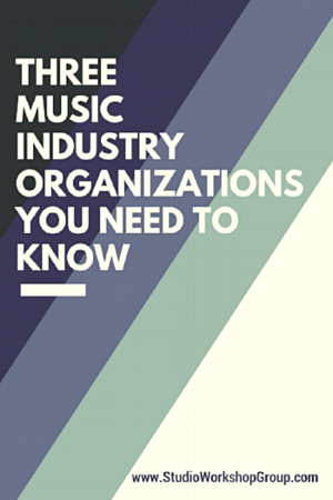 Three Music Industry Organizations You Need To Know Have You Written Music You Want To Record And Relea Music Business Music Industry Artist Management Music