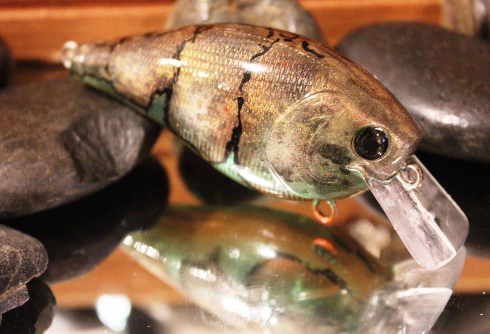 Custom Painted RCL Crank Bait 2 5 Rattle Bass Walleye Pike