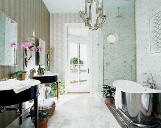 diy home ideas : 8 vintage style bathroom design ideas for