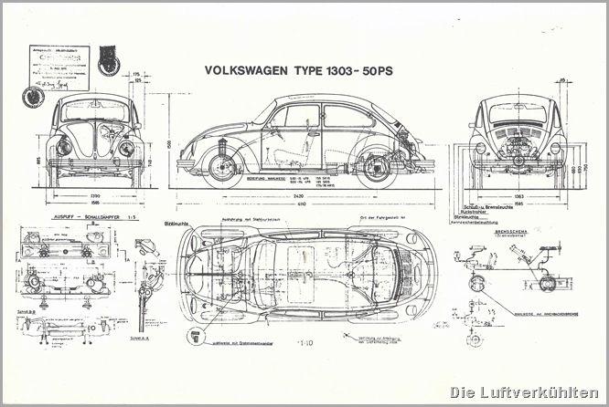 technical volkswagen beetle motor diagram