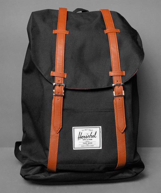 Neu im Shop: Herschel Retreat Backpack in Black - http://www.numelo.com/herschel-retreat-backpack-p-24514551.html #herschel #retreatbackpack #taschen #numelo