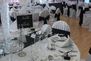 Black and white weddings