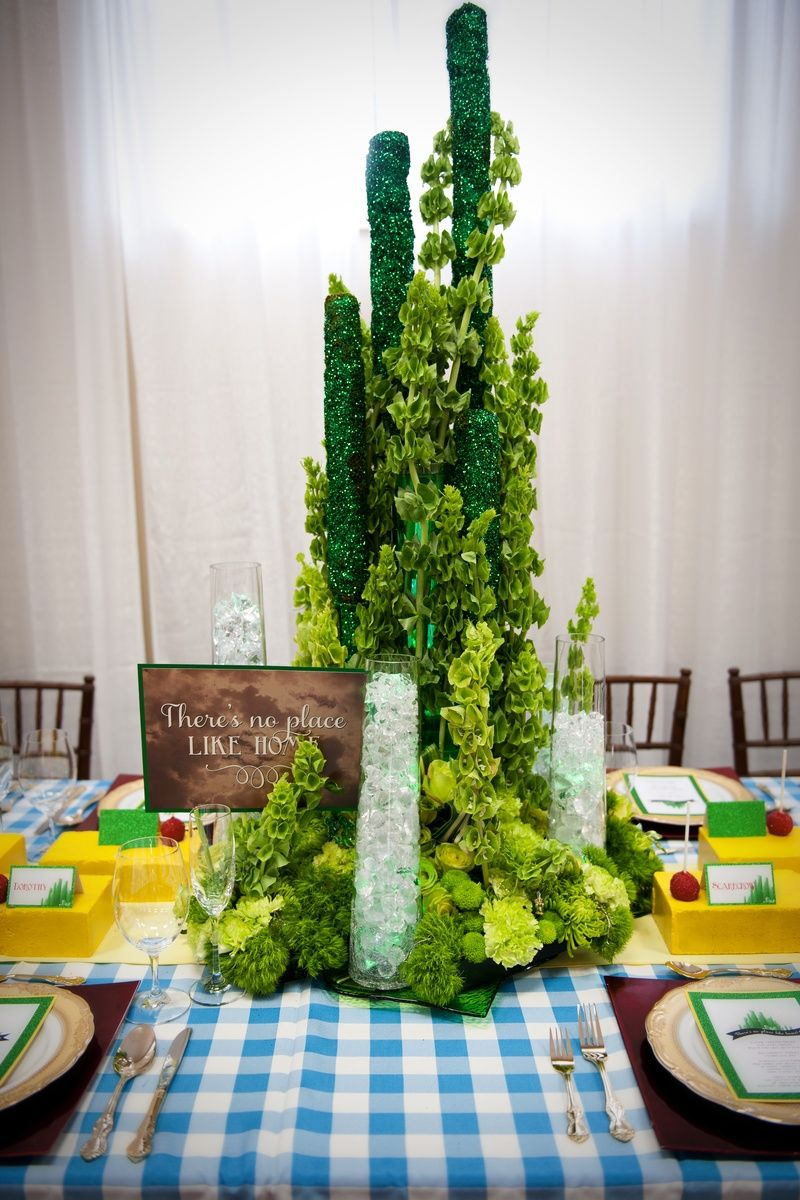 Image Result For Gala Dinner Centerpieces Oz Themed Oz In 2018