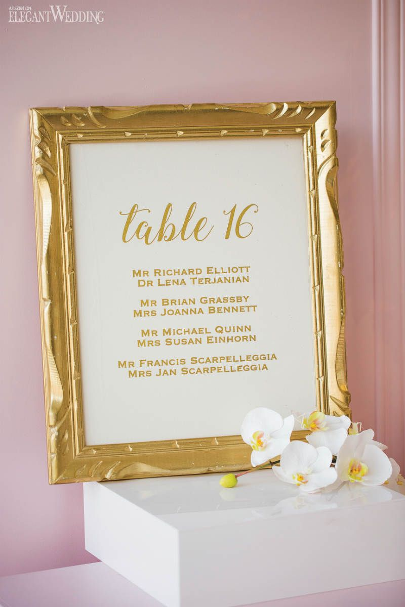 Light Pink Wedding Inspiration | Wedding Signs & Seating Charts ...