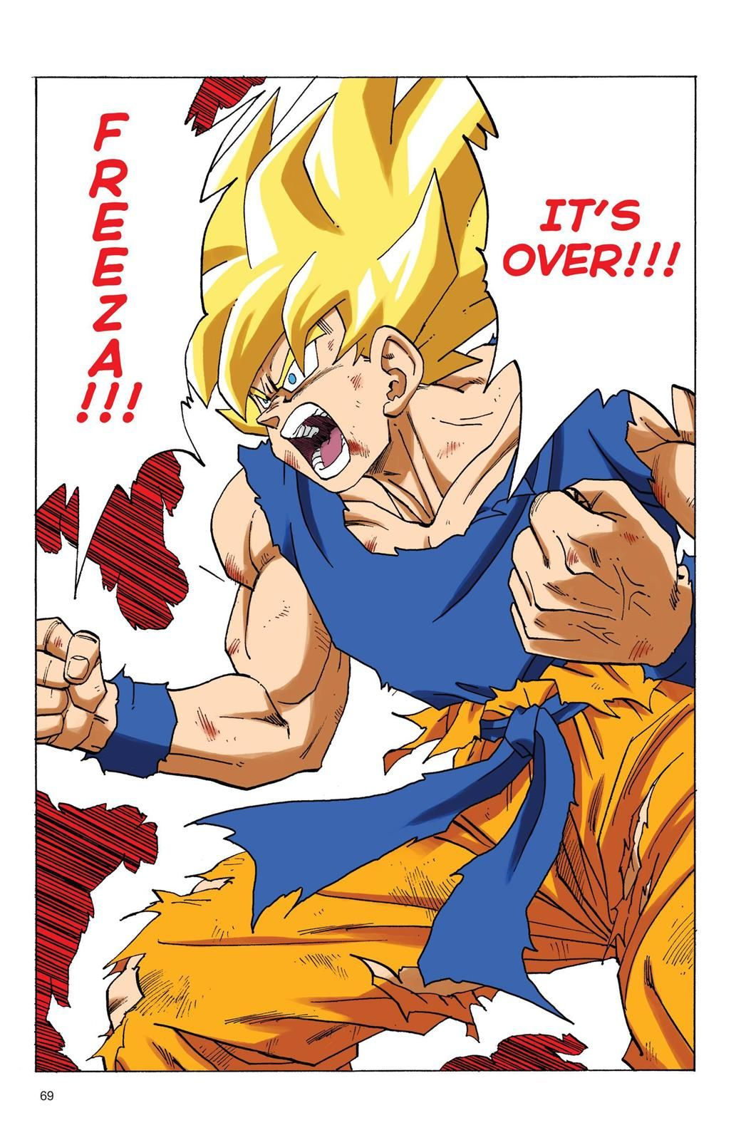 Read Dragon Ball Full Color - Freeza Arc Chapter 70 Page ...