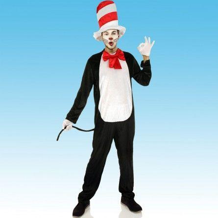 Mens Cat In A Hat Costume Costume ideas Pinterest Costumes - halloween costumes ideas men