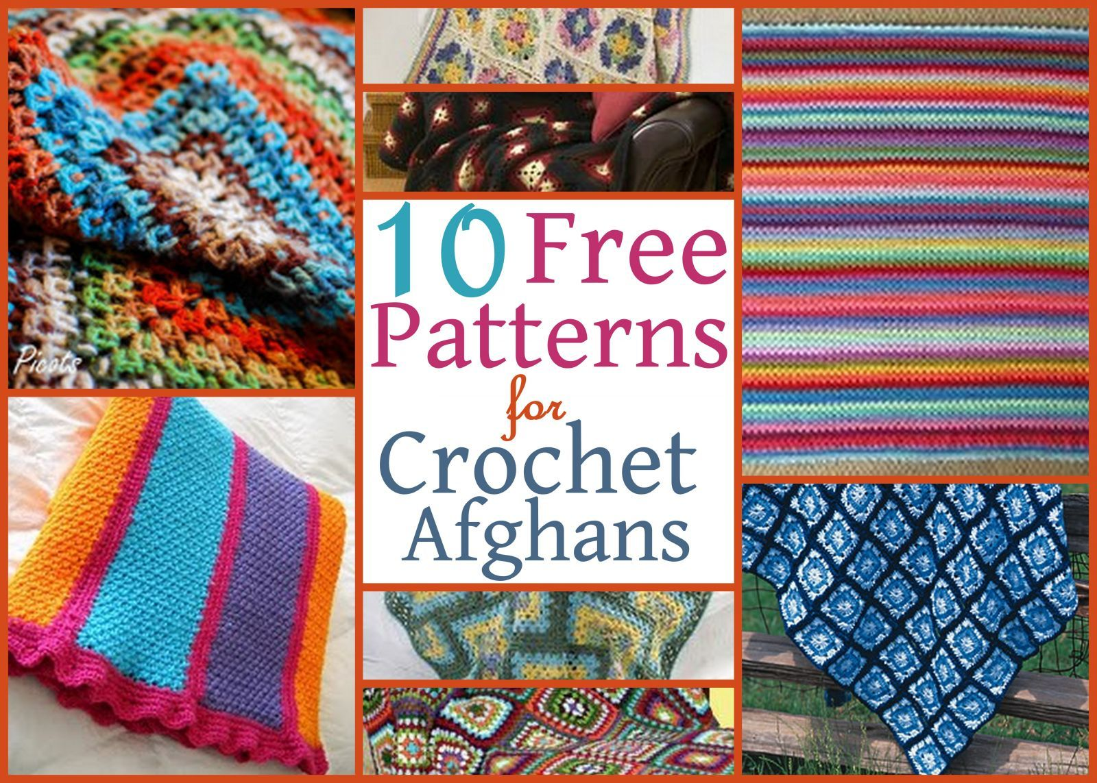 10 free patterns for crochet afghans crochet afghans crocheted 10 free patterns for crochet afghans bankloansurffo Images