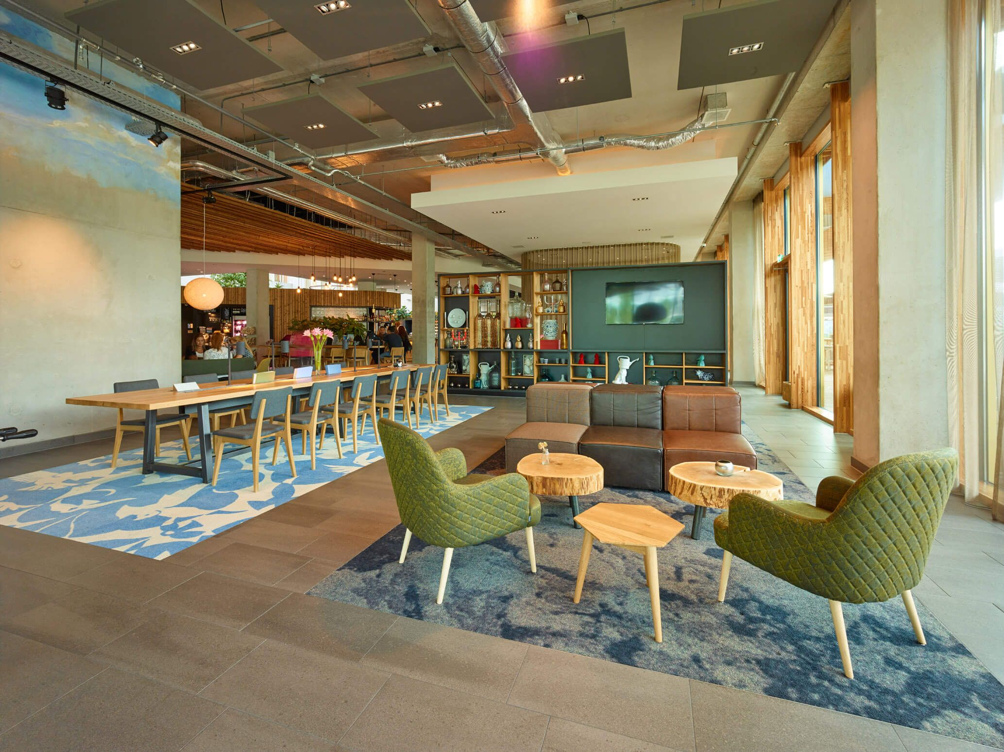 Hotel Novotel Schiphol Airport, Amsterdam. (met