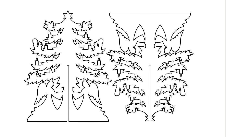 Tannenbaum Dxf.Christmas Tree 2 3d Dxf File Puzzle Christmas Xmas Tree