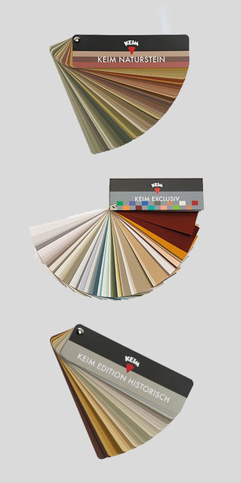 Keim Farbkarten Farbkarten Farben Karten