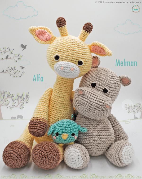Amigurumi Pattern Alfa Giraffe Knit And Crochet Pinterest Stunning Amigurumi Patterns