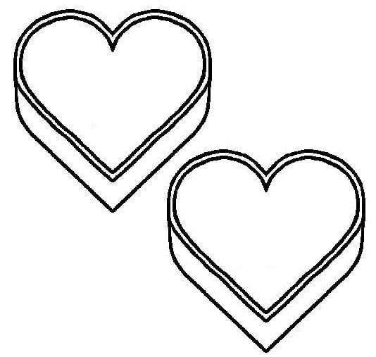 February Candy Heart For Descriptive Vocab Activity Heart