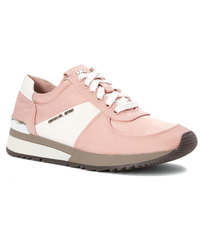 MICHAEL MICHAEL KORS Women'S Allie Trainer Fashion Sneakers'. #michaelmichaelkors #shoes #sneakers