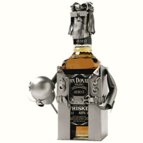 Whiskey bottle holder - Hinz et Kunst