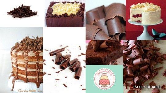 Raspas de chocolate são uma maneira de decorar o bolo ou cupcake de maneira rápida e fácil. Veja como fazer neste mini vídeo. Você vai precisar de: 1 barra de chocolate 1 descascador de legumes...