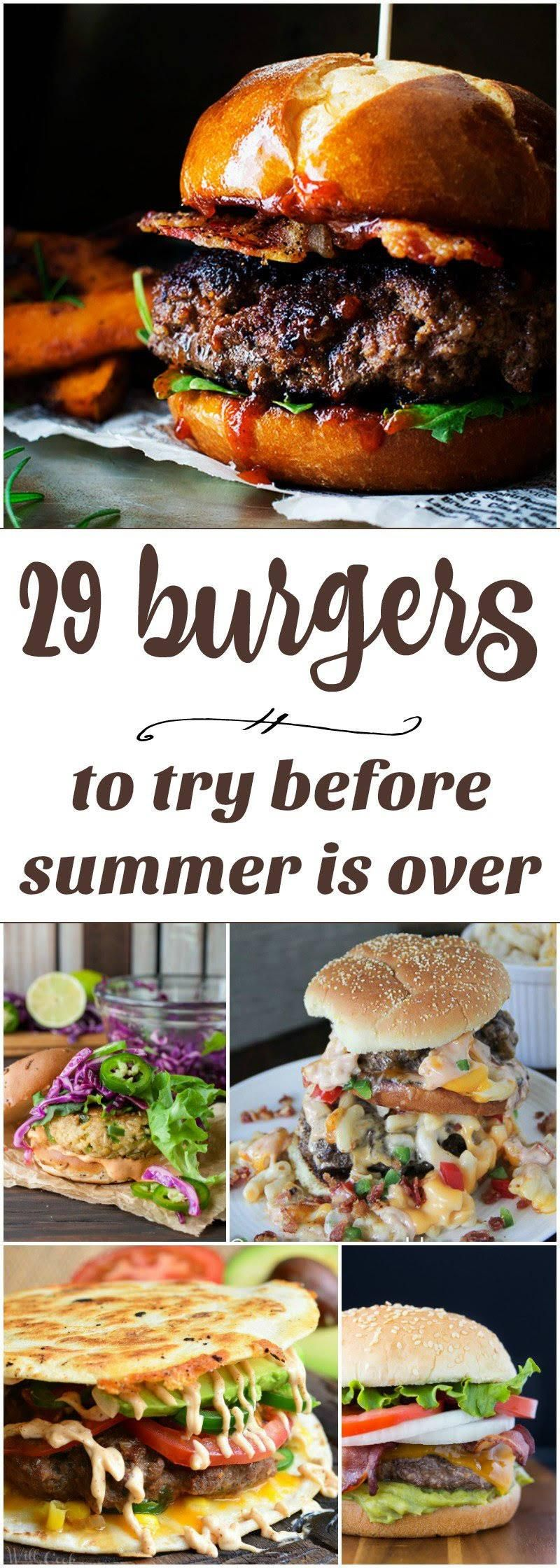 29 Burgers To Try Before Summer Is Over