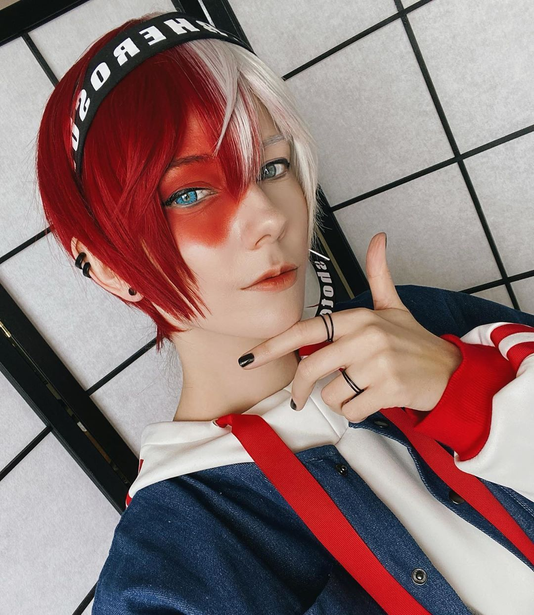 Mystery Blue Colored Contact Lenses in 2020 | Todoroki ...