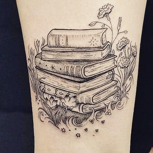 Photo of 105 tatuajes de libros para el mejor lector