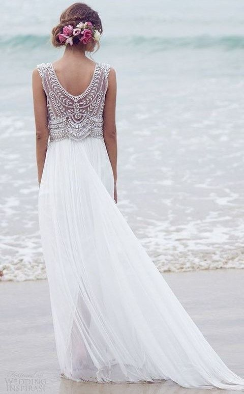 Light and Airy Wedding Dresses