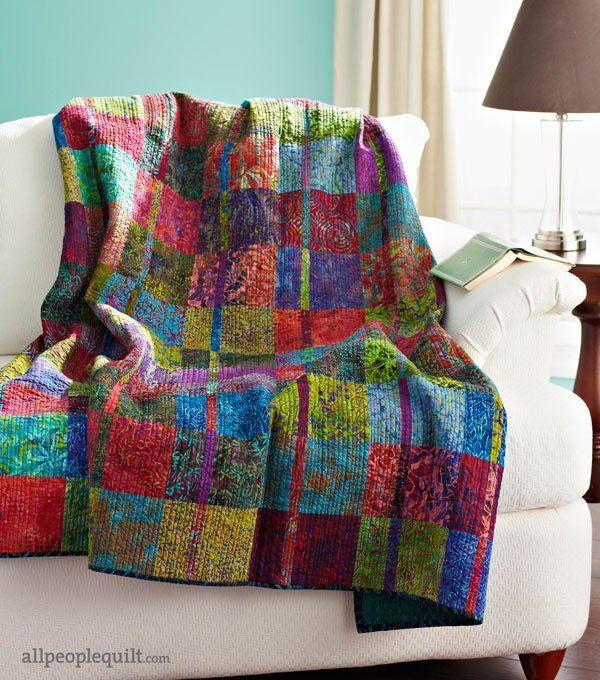 Quilt Patterns Free, Batik