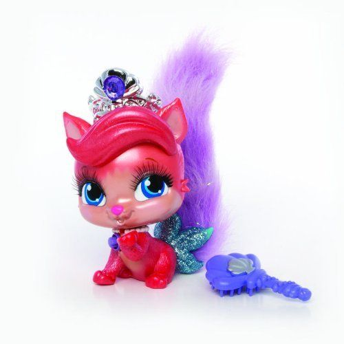Kids 4 Can Play With Ariel S Pet Kitty Treasure With This Talking Toy Part Of The Disne Princess Palace Pets Disney Princess Palace Pets Disney Princess Pets