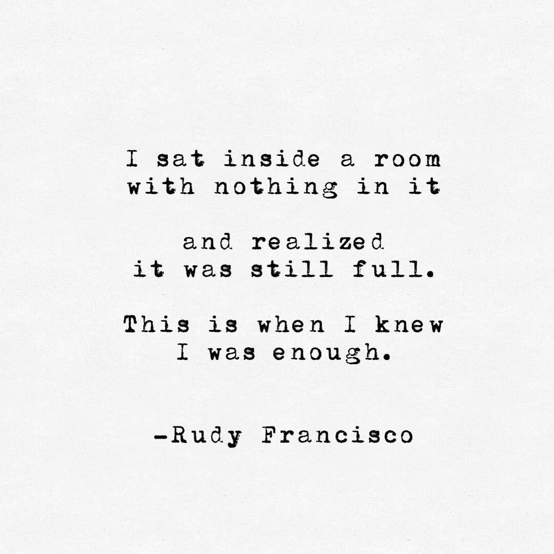 Resultado de imagem para i sat alone Francisco quotes