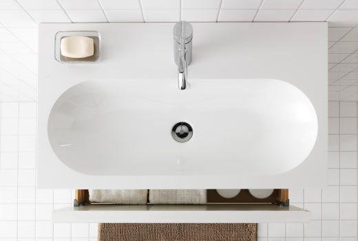 Lavabo salle de bain ikea br viken ambiance sdb for Mini lavabo salle de bain