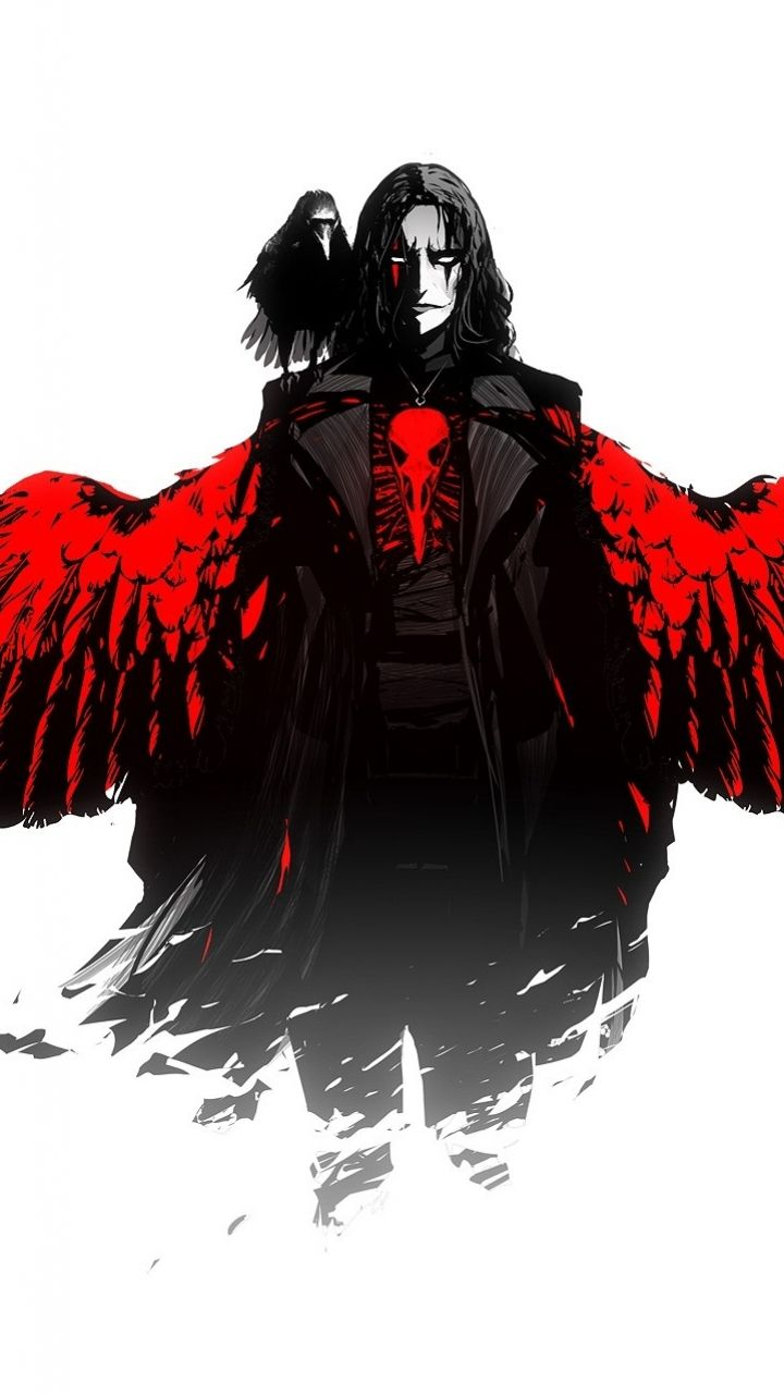 The Crow Appleiphone 5 640x1136 4 Wallpapers