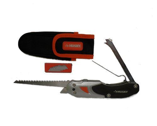 Husky 5 In 1 Professional S Drywall Tool By Husky 25 00 Durable Lightweight Aluminum Body Weighs Less Than 10 Oz Erg Drywall Tools Utility Knife Sheetrock
