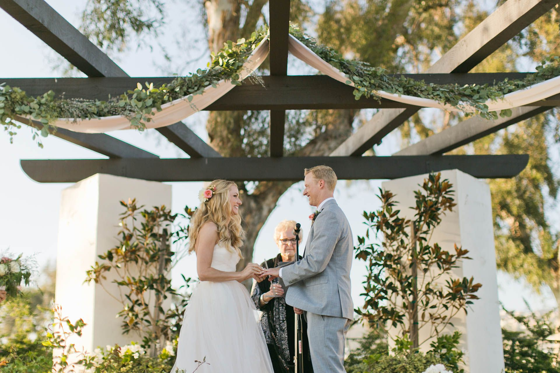 Wedgewood weddings, San clemente, ceremony outside and